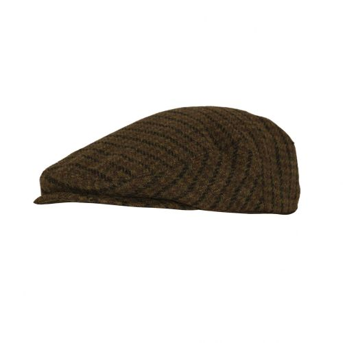Deerhunter Beaulieu Flat Cap: Chestnut